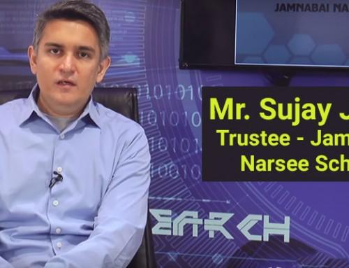 Mr Sujay Jairaj, Trustee, Narsee Monjee School talks about empowering teachers through Technology
