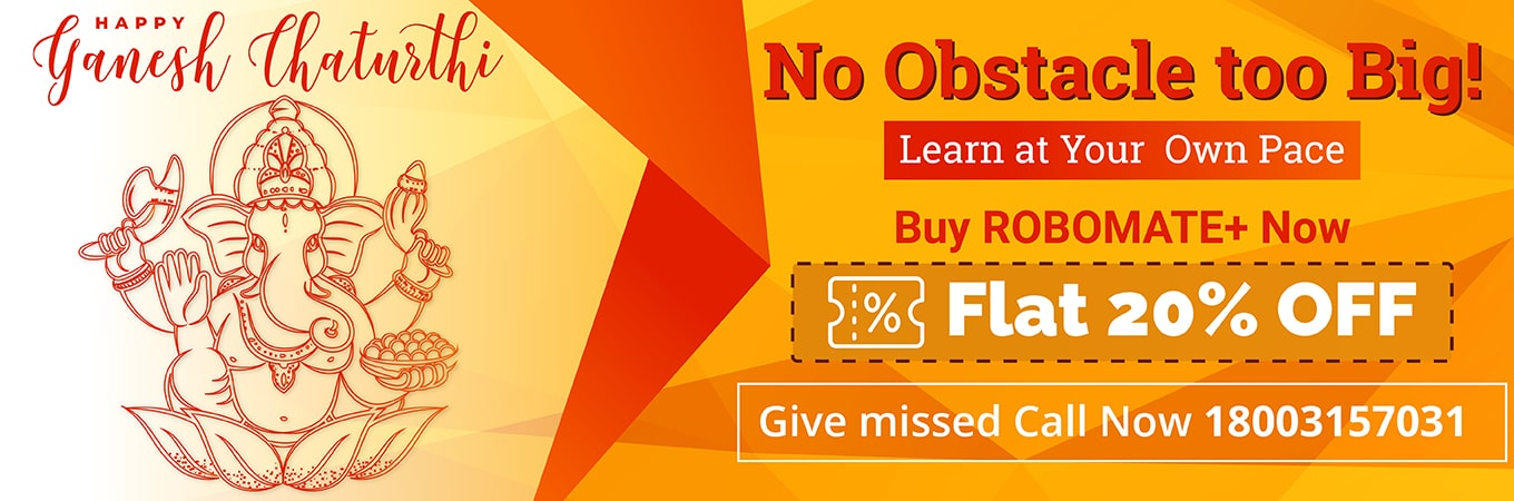 Robomate Plus - No - 1 Choice of Indian Students