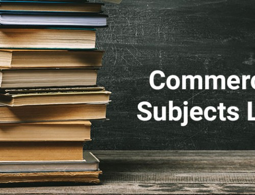 Detailed Commerce Subjects List in Class 11